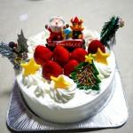 サンタがケーキ2019-2